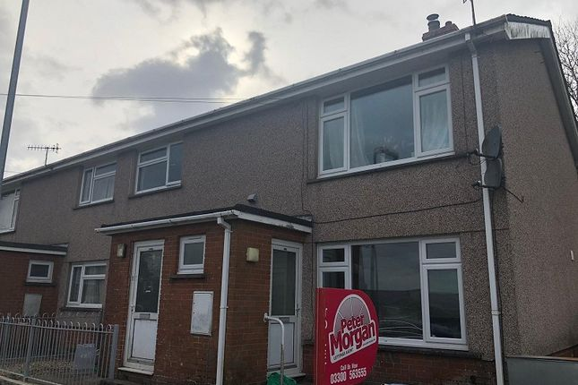 Thumbnail Flat to rent in Rhiw Road, Rhiwfawr, Swansea