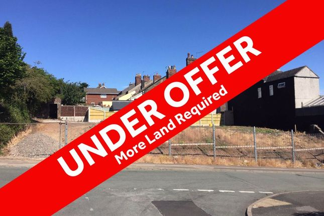Thumbnail Land for sale in Emberton Street, Chesterton, Newcastle-Under-Lyme
