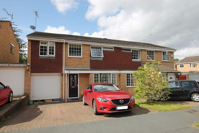 Thumbnail Semi-detached house for sale in Hazel Way, Crawley Down, Crawley, West Sussex.