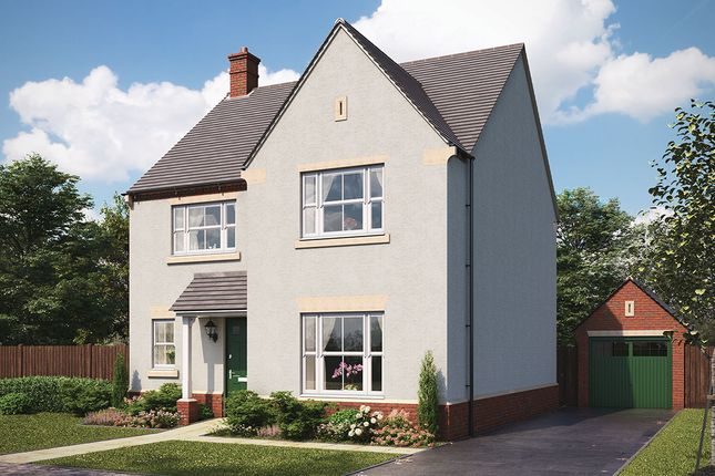 "Thumbnail Detached house for sale in ""Ashbourne"" at Harrogate Road, Green Hammerton, York"