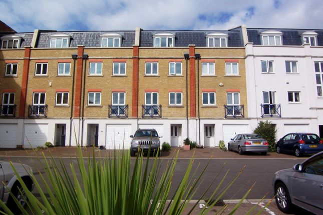 Thumbnail Terraced house to rent in The Piazza, Sovereign Habour South, Eastbourne
