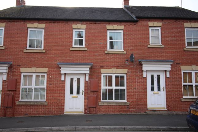 Thumbnail 2 bed mews house to rent in Drovers Close, Uttoxeter