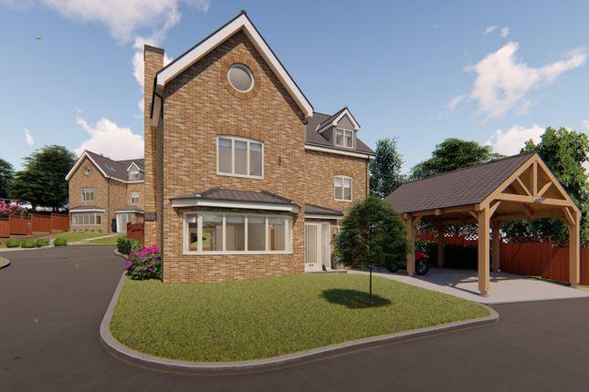 Thumbnail Detached house for sale in Stanton Close, Dereham