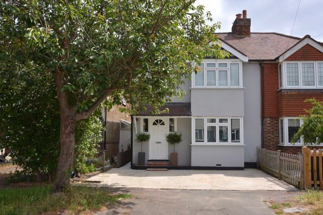 Thumbnail Semi-detached house for sale in Molesey Park Avenue, West Molesey