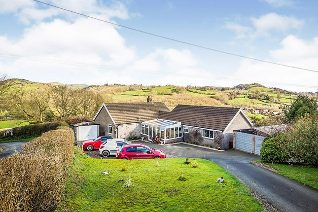 Thumbnail Bungalow for sale in Pont Robert, Meifod, Powys