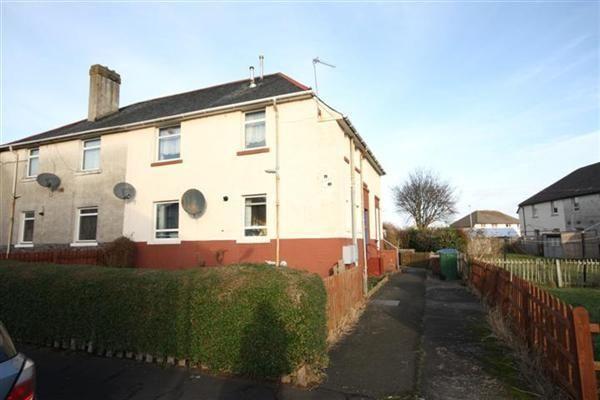 Thumbnail End terrace house for sale in Manson Avenue, Prestwick