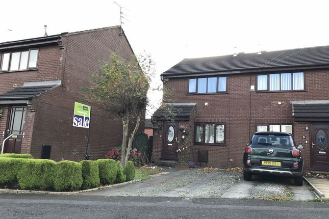 Thumbnail Semi-detached house for sale in Alleytroyds, Church, Accrington