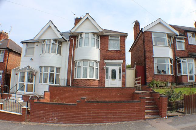 Thumbnail Semi-detached house for sale in Broad Avenue, Leicester