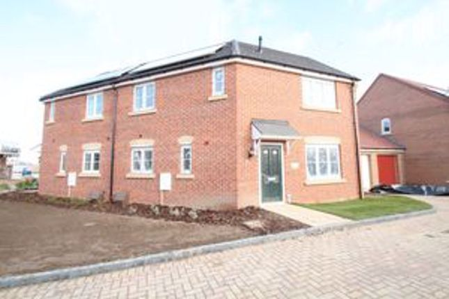 Thumbnail Semi-detached house for sale in Anson Court, Market Deeping, Peterborough