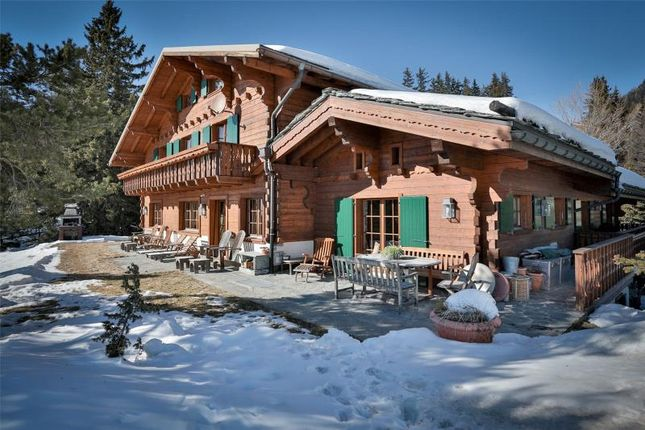 Thumbnail Property for sale in Amazing Luxury Chalet, Crans-Montana, Sierre