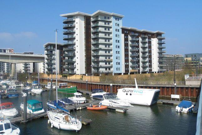Thumbnail Flat to rent in Alexandria, Watkiss Way, Cardiff Bay, Cardiff