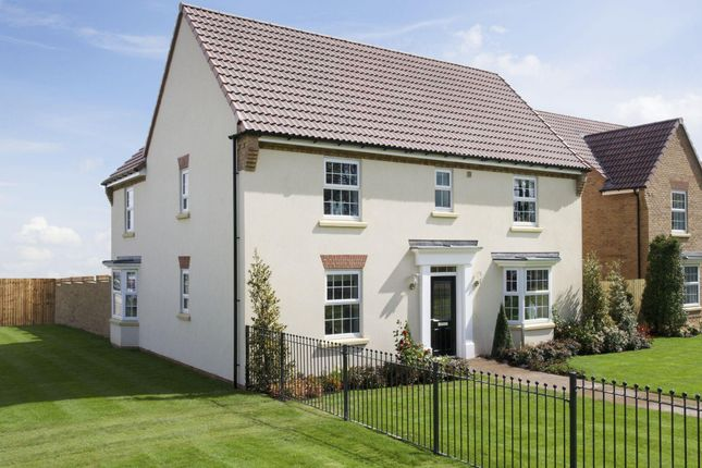 "Thumbnail Detached house for sale in ""Tunstall"" at Lowfield Road, Anlaby, Hull"