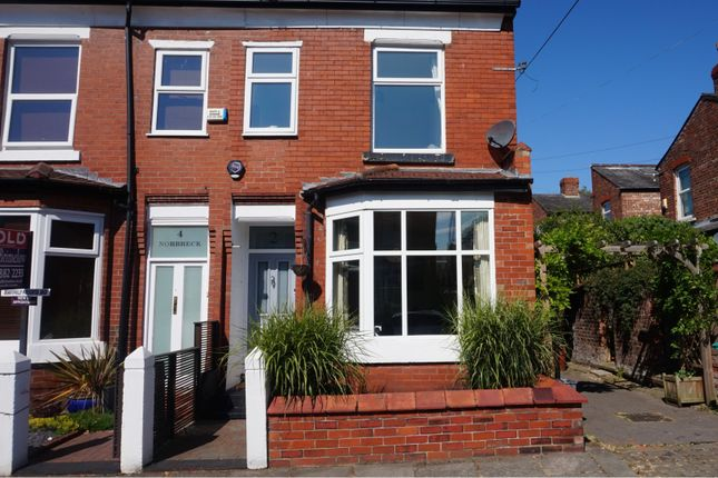 Thumbnail End terrace house for sale in Norbreck Avenue, Chorlton