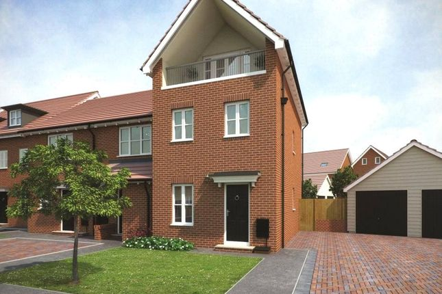 Thumbnail Semi-detached house for sale in Plot 152 Eshton Phase 1, Navigation Point, Cinder Lane, Castleford