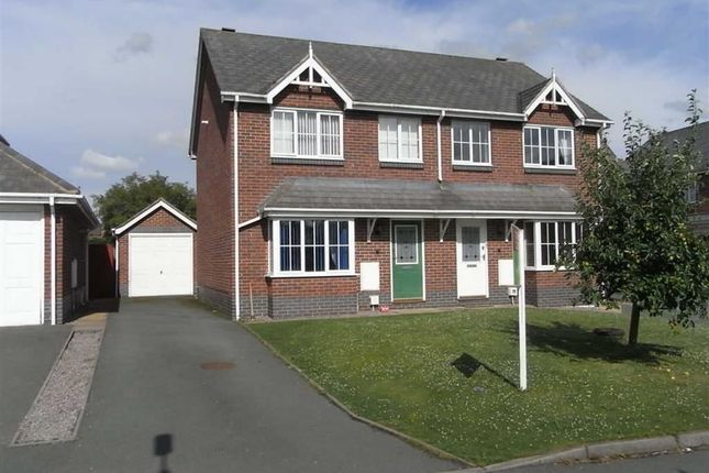 Thumbnail Semi-detached house to rent in Orchard Green, Llanymynech