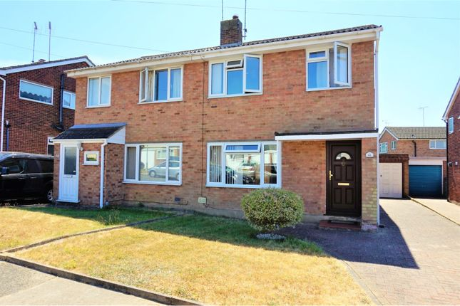 Thumbnail Semi-detached house for sale in Broadlands Way, Colchester