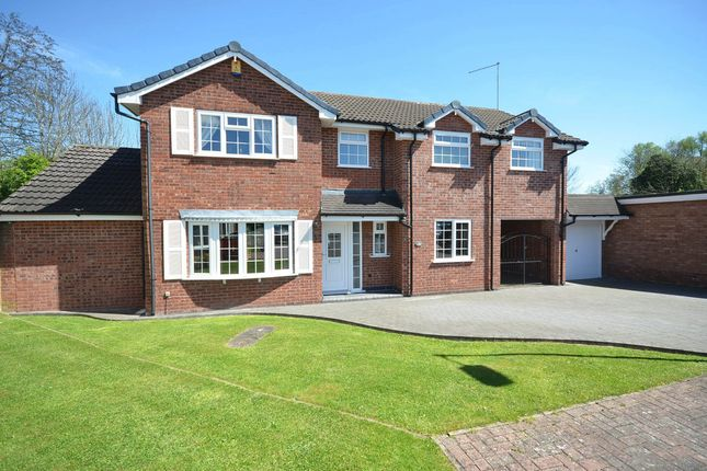 Thumbnail Detached house for sale in Danebower Road, Trentham, Stoke-On-Trent
