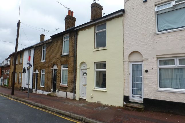 Thumbnail Terraced house to rent in Saxton Street, Gillingham