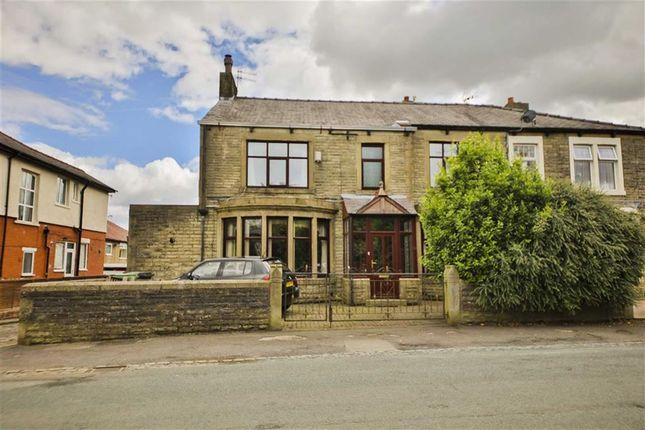 Thumbnail End terrace house for sale in Hollins Lane, Accrington, Lancashire