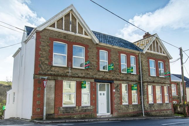 Thumbnail Flat to rent in High Street, Nantyffyllon, Maesteg