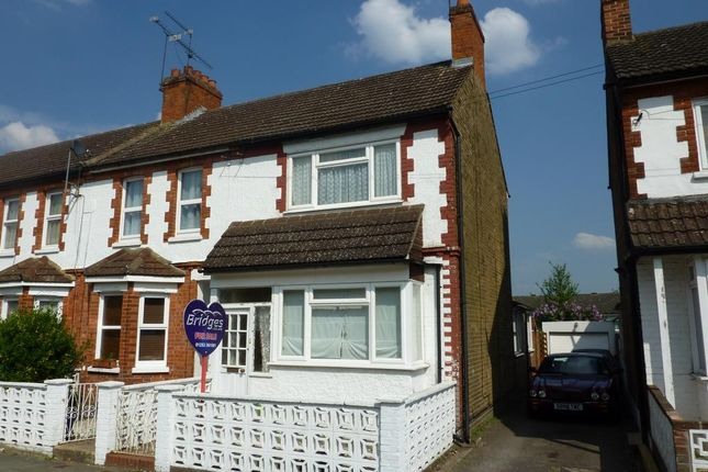 Thumbnail End terrace house to rent in Highland Road, Aldershot