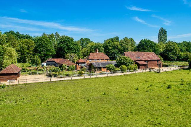Thumbnail Barn conversion for sale in School Lane, Pirbright, Woking