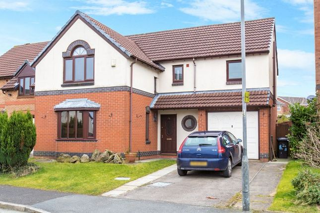 Thumbnail Detached house to rent in Langham Road, Standish, Wigan
