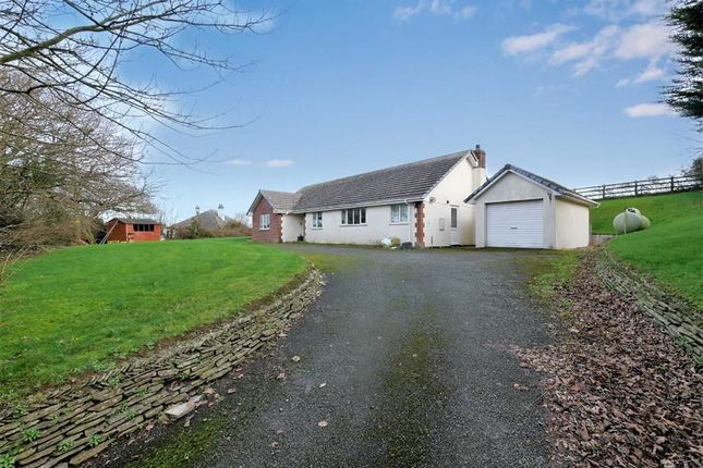 Thumbnail Detached bungalow for sale in Treskinick Cross, Poundstock, Bude, Cornwall