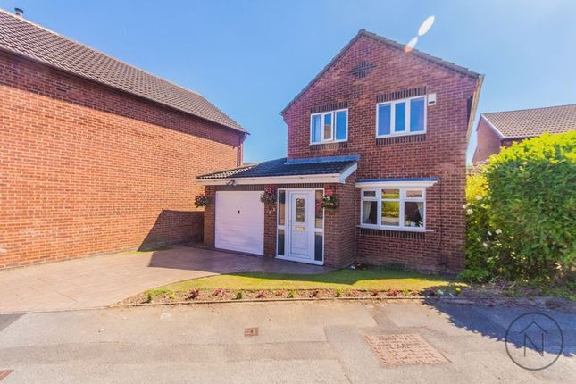 Thumbnail Detached house for sale in Budworth Close, Billingham