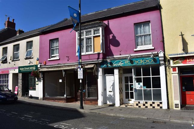 Thumbnail Retail premises for sale in Brighton Mews, Main Street, Pembroke