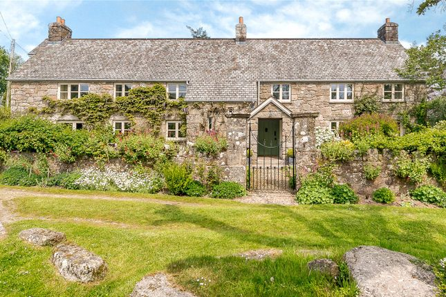 Thumbnail Detached house for sale in North Bovey, Newton Abbot, Devon
