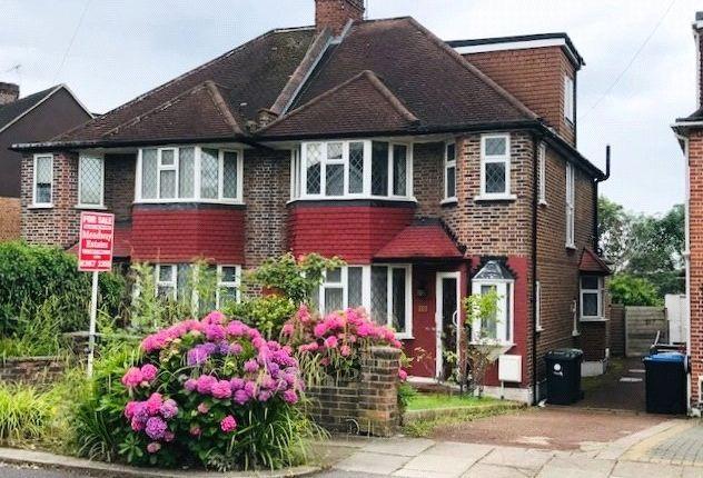 Thumbnail Semi-detached house for sale in Raith Avenue, Southgate, London
