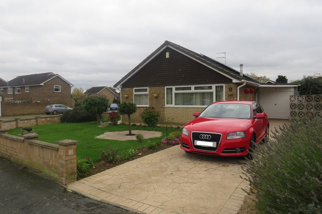 Thumbnail Detached bungalow for sale in Carlyle Close, Newport Pagnell