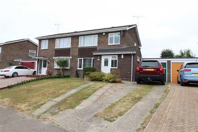 Thumbnail Semi-detached house for sale in Bedford Road, Mile End, Colchester