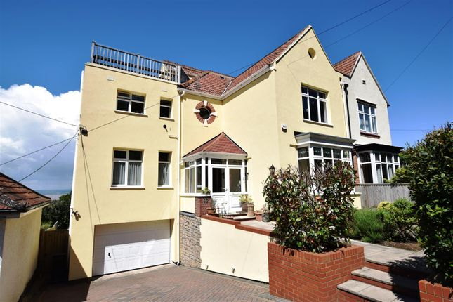 Thumbnail Semi-detached house for sale in Nore Road, Portishead, Bristol