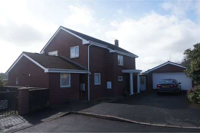 Thumbnail Detached house for sale in Lake View, Crediton