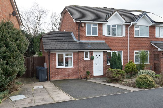 Thumbnail Semi-detached house for sale in York Close, Bournville, Birmingham