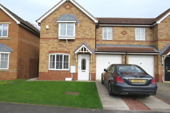 Thumbnail Semi-detached house for sale in Picktree Gardens, Hartlepool