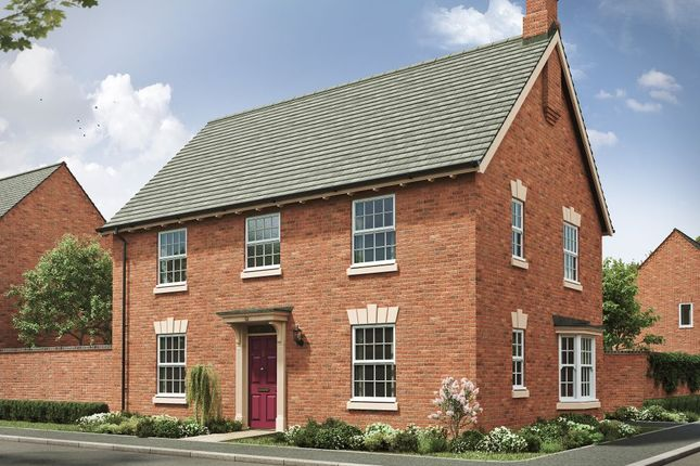 """4 bed detached house for sale in """"The Bicton Georgian 4th Edition"""" at Davidsons At Wellington Place, Leicester Road, Market Harborough LE16"""