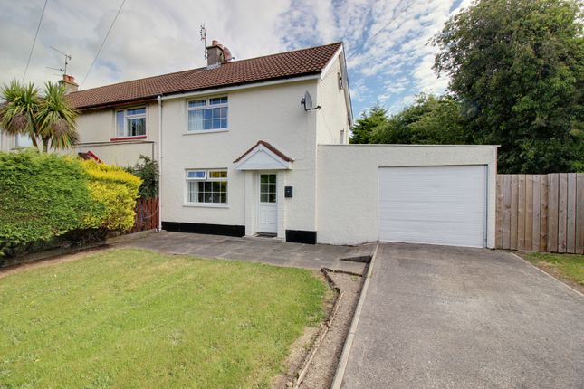 Thumbnail End terrace house for sale in Culmore Avenue, Newtownards