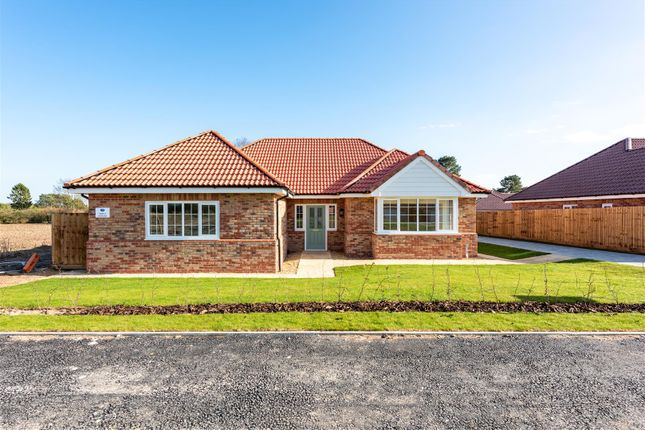 Thumbnail Detached bungalow for sale in The Larch, Tower Drive, Woodhall Spa