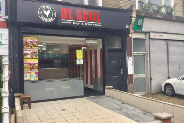 Thumbnail Restaurant/cafe for sale in Romford Road, London