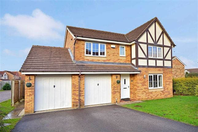 Thumbnail Detached house for sale in The Bramblings, Castleford, West Yorkshire