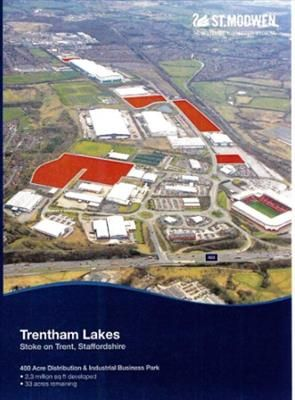 Thumbnail Land to let in Trentham Lakes, Stoke On Trent