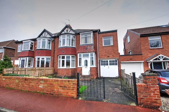 4 bed semi-detached house for sale in Mountfield Gardens, Kenton, Newcastle Upon Tyne NE3
