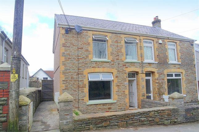 Thumbnail Semi-detached house for sale in Station Road, Llangynwyd, Maesteg, Mid Glamorgan