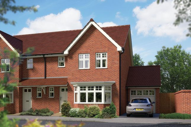 """Thumbnail Semi-detached house for sale in """"The Epsom"""" at Matthewsgreen Road, Wokingham"""