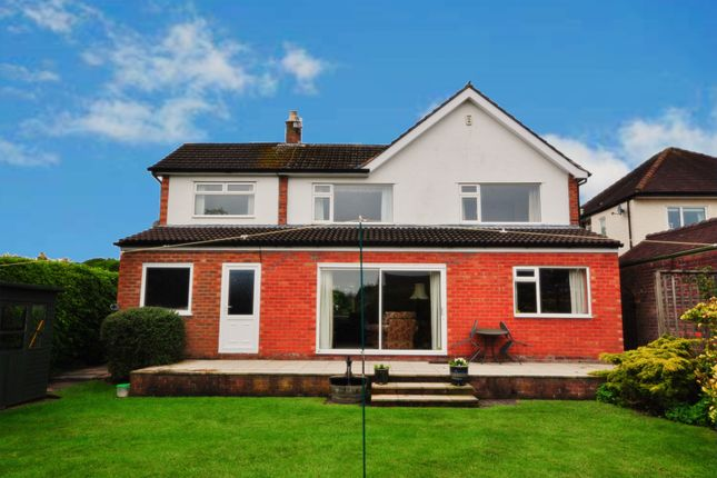 Thumbnail 4 bed detached house for sale in Border Road, Heswall, Wirral