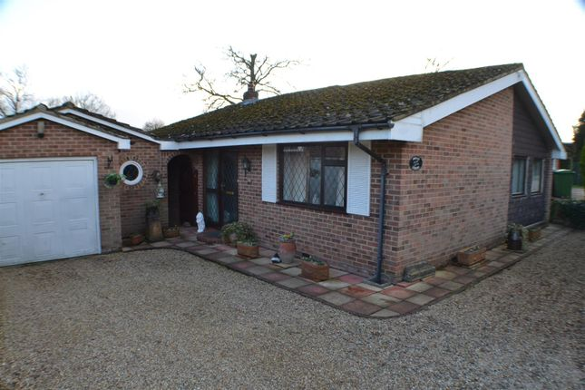 Thumbnail Detached bungalow for sale in Hollybush Lane, West End, Baughurst