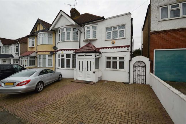 Thumbnail Semi-detached house for sale in Vista Drive, Redbridge, Essex
